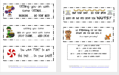 image relating to Encouraging Notes for Students During Testing Printable called Offers concerning College student tests (36 prices)