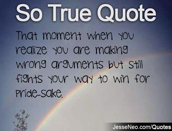 Quotes About Realizing Your Wrong 23 Quotes