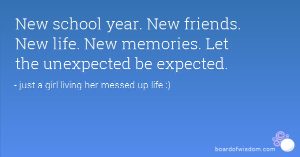 quotes about new school year quotes