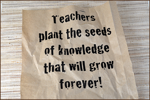 Plant The Seeds Of Knowledge That Will Grow Farever!
