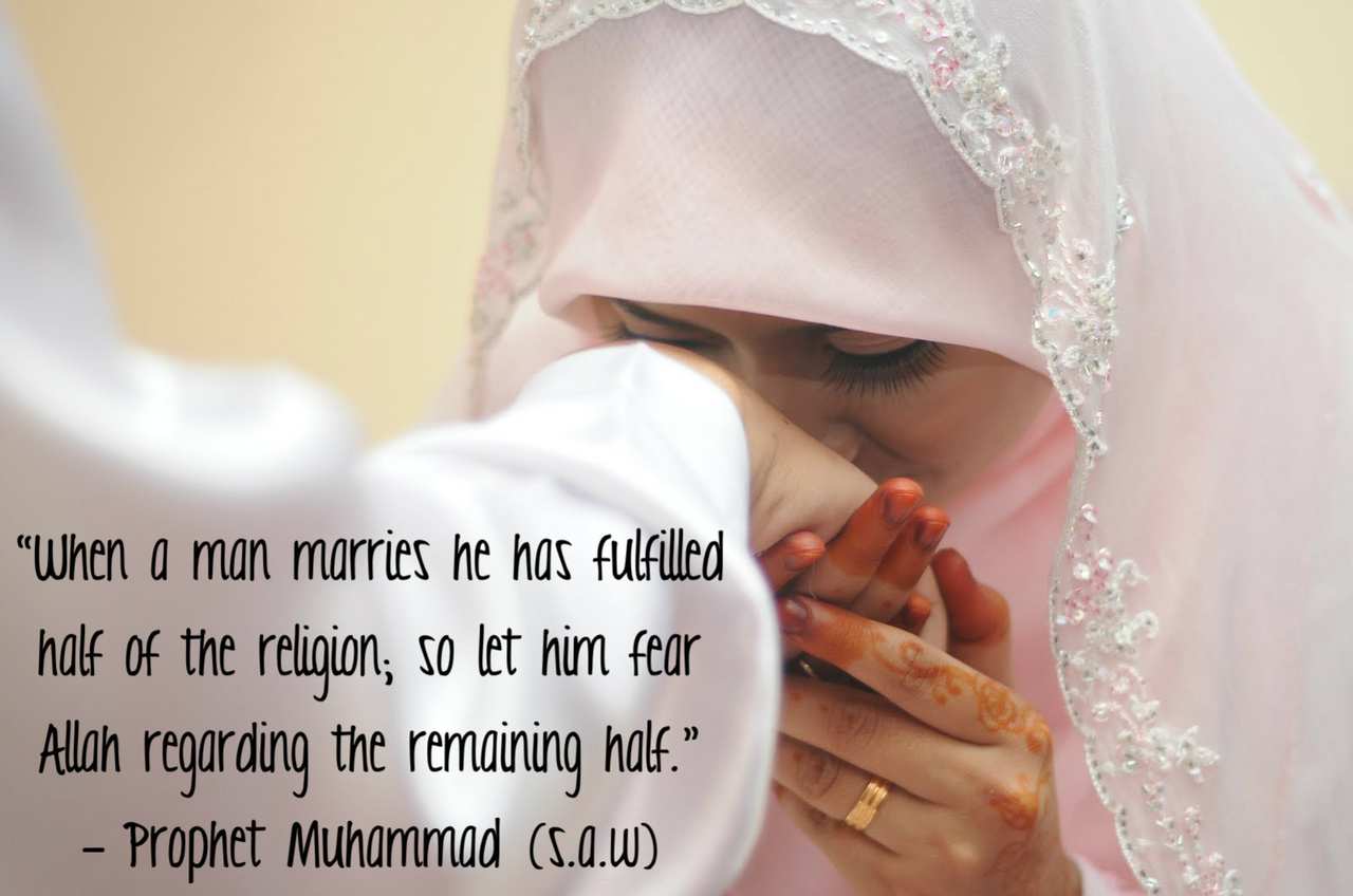 Quotes about Muslim marriage (27 quotes)