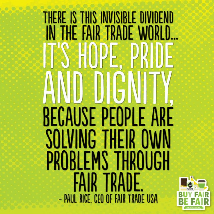 Quotes about Fair trade farmers (21 quotes)