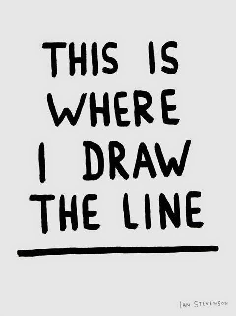 Quotes about Drawing boundaries (26 quotes)