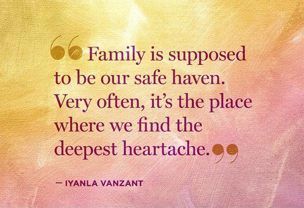 Quotes about Family hurting you (23 quotes)