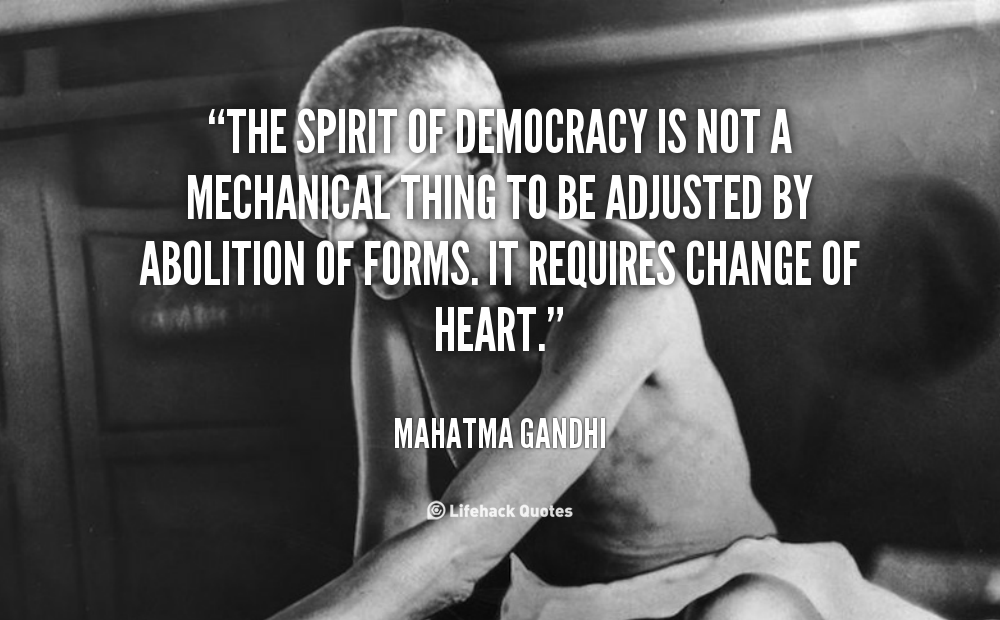 Quotes About Importance Of Democracy 15 Quotes