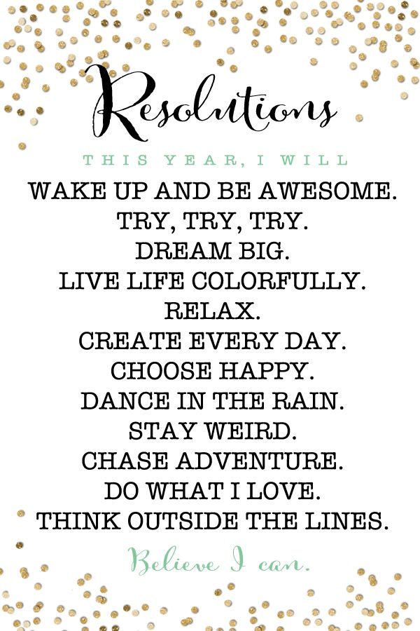Quotes about New year resolutions (49 quotes)