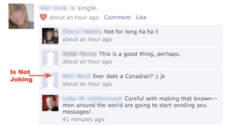 Breakup facebook statuses