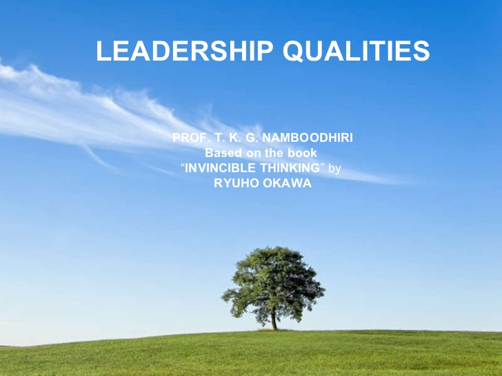 "good leadership qualities essay Here are examples of three different quality essays: qualities of a good friend it is great, that a person who wrote this quality essay opposed terms ""leader."