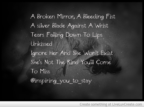 Sad Quotes About Self Harm 58421 Loadtve