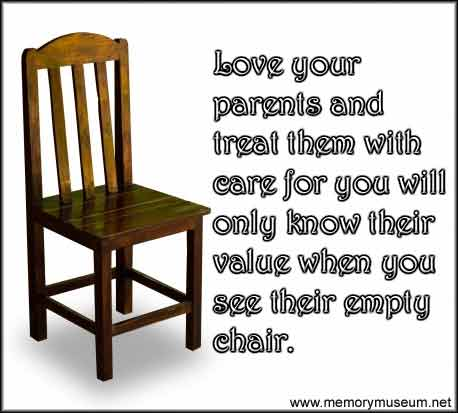 Quotes About Empty Chairs 34 Quotes