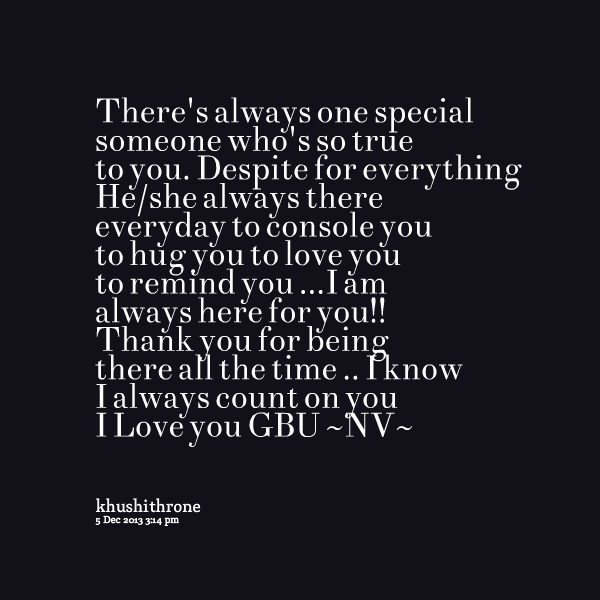 Quotes about Someone special (111 quotes)