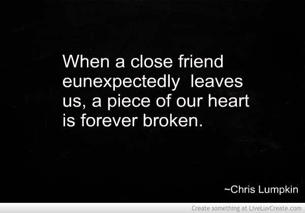quotes about lost friends death quotes