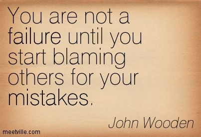 Quotes About Not Blaming 69 Quotes