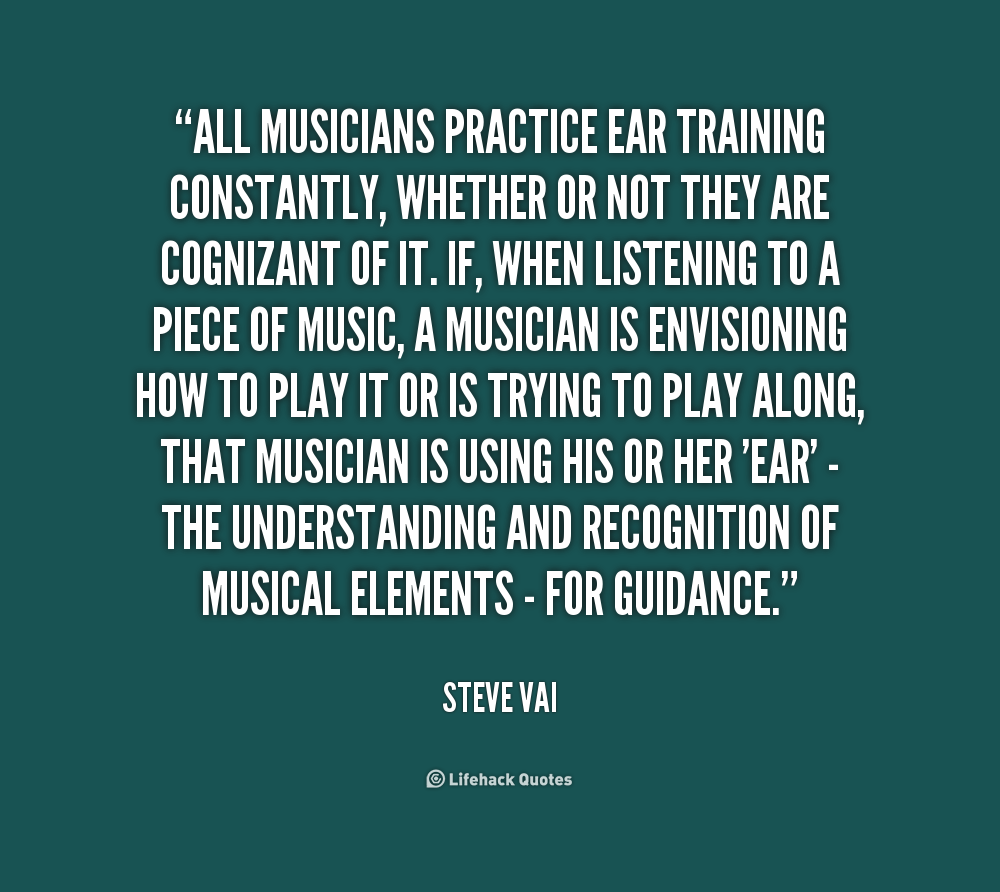 Quotes About Music Practice 61 Quotes