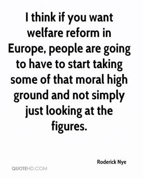 what measures should be taken to reform welfare T he family support act, america's most recent effort at welfare reform, begins to take effect this year the real welfare problem how to win elections:.