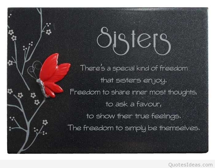 Stupendous Quotes About Birthday Sister 34 Quotes Personalised Birthday Cards Paralily Jamesorg