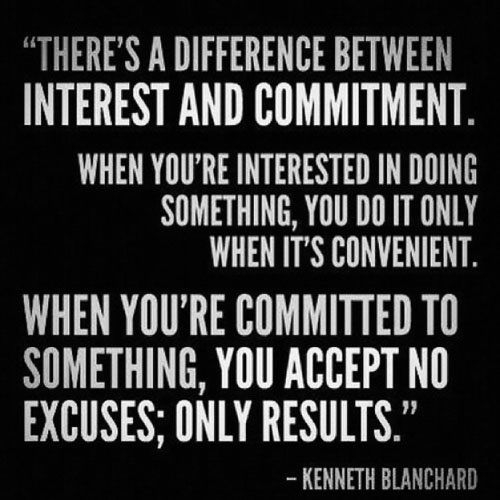 Quotes about Commitment and attitude (19 quotes)