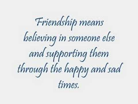Quotes About Definition Of Friendship Quotes Com Watch V Vjtlamyvzwq