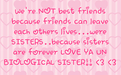 Quotes about Sisters And Friends (57 quotes)