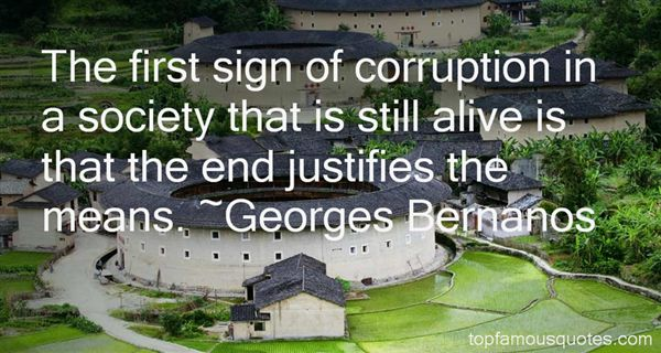 corrution in public life