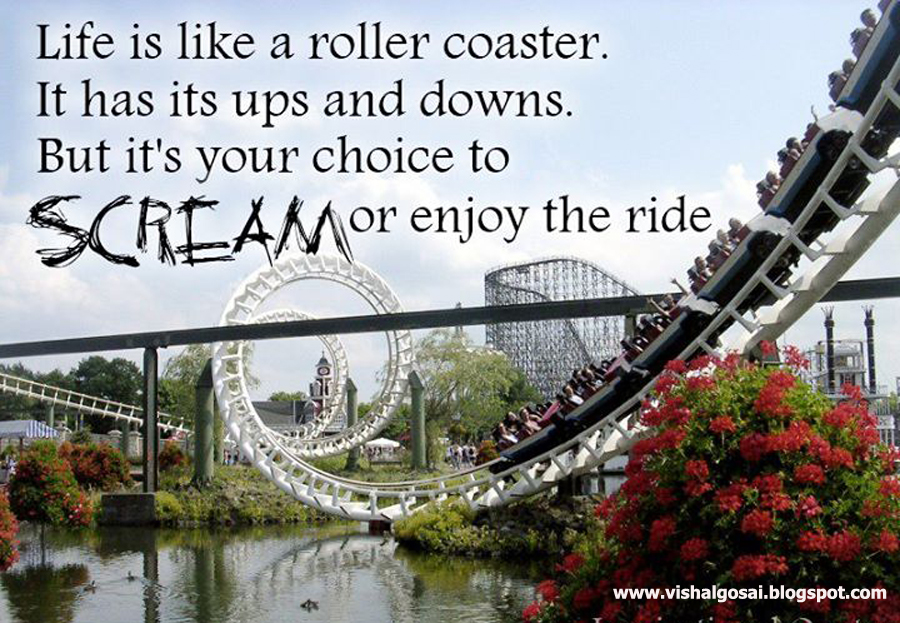 love is like a roller coaster
