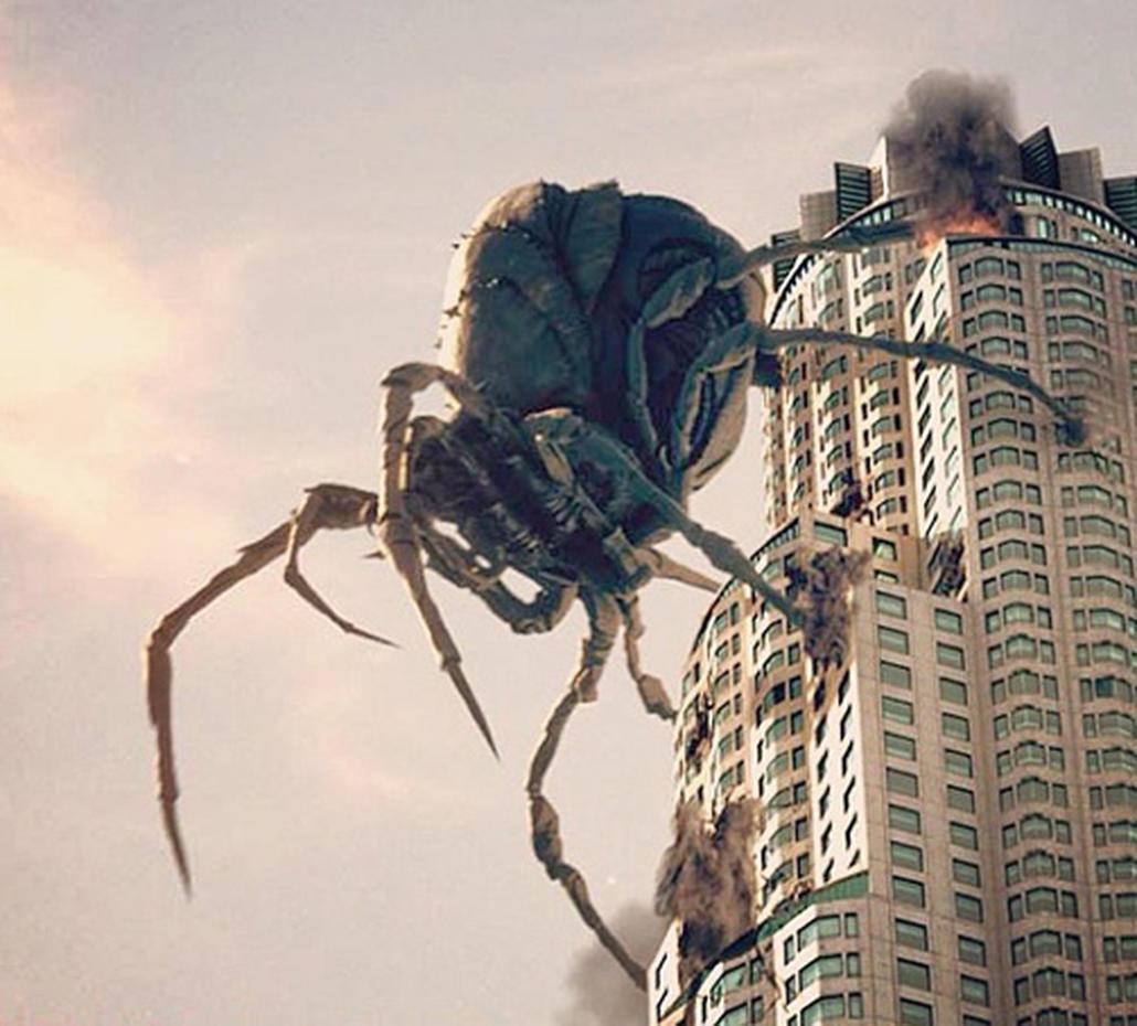 Картинки гигантских пауков мутантов