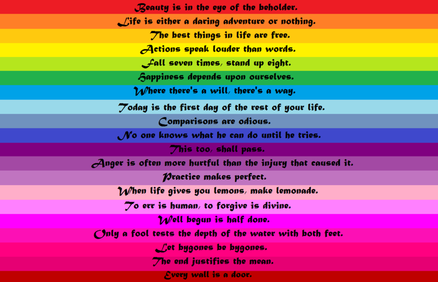 Quotes About Rainbows (112 Quotes