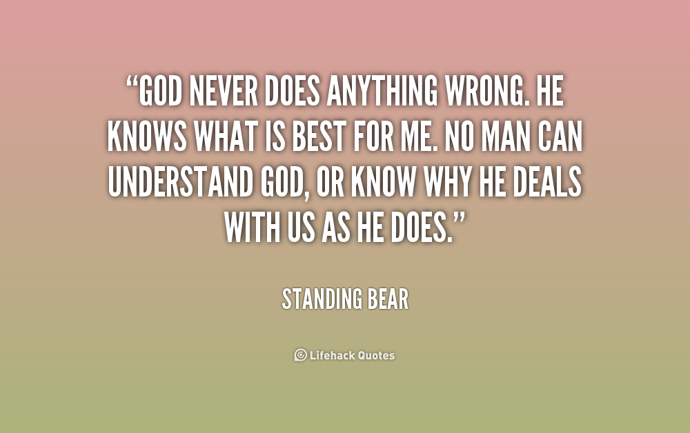 Quotes about God knows best (57 quotes)
