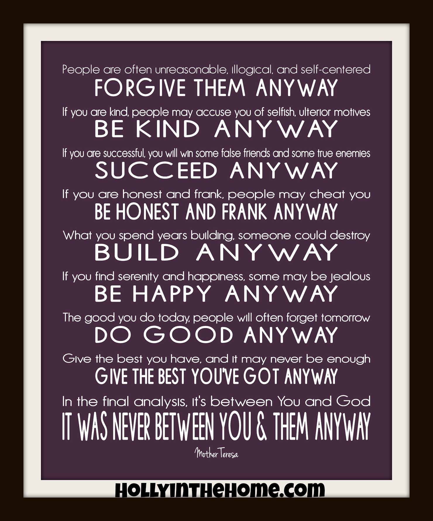 Quotes about Anyway 553 quotes