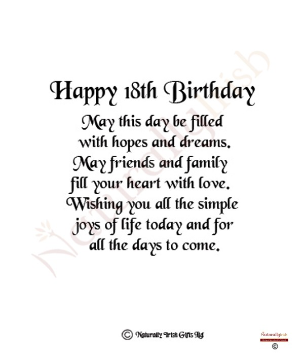 Quotes About 18th Birthday (32 Quotes