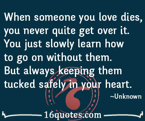 Quotes about Someone dying (62 quotes)