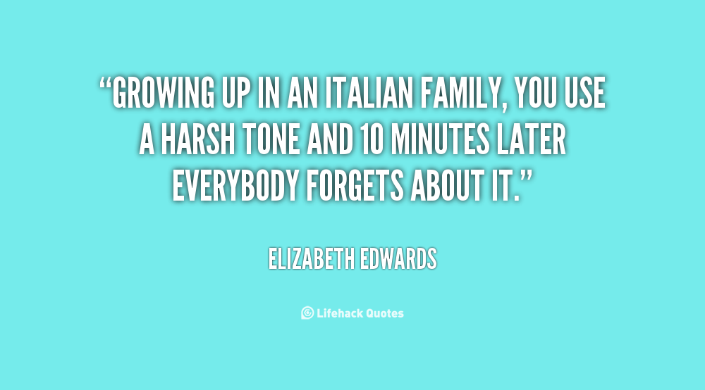 Quotes about Italian Family (35 quotes)