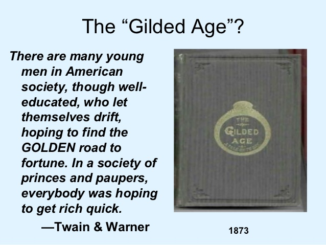 """journalism and the gilded age essay A powerful weapon of the gilded age was """"yellow journalism""""  from the socratic seminar, students will compose a handwritten essay to address their question."""