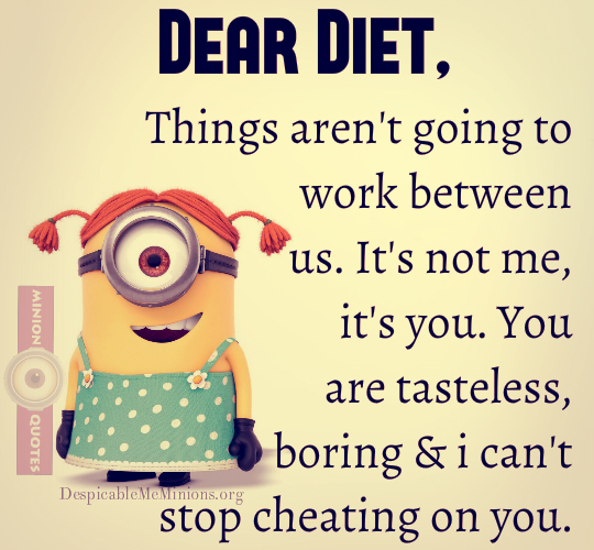 Quotes about Having a diet (36 quotes)