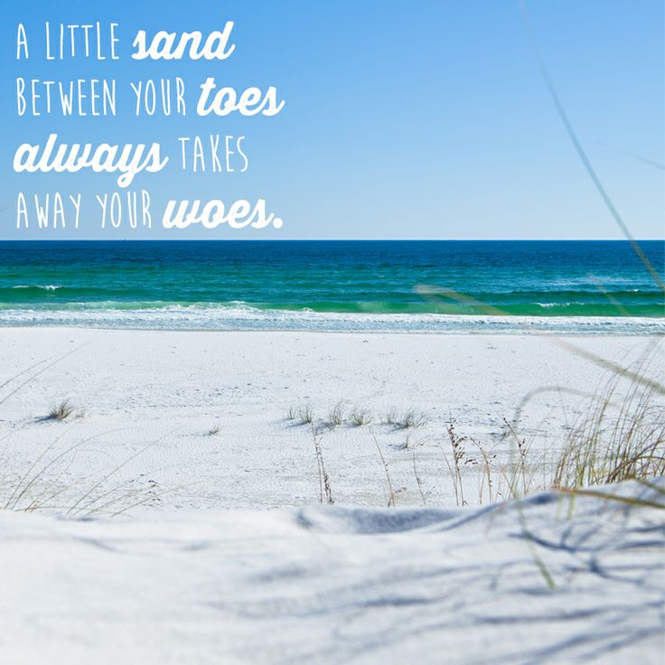Quotes about Sandy beach (25 quotes)