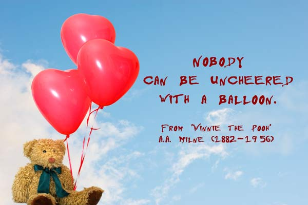 Quotes About Balloon 113 Quotes