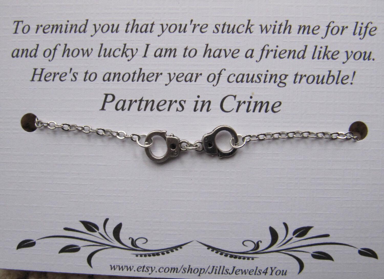 Crime relationship in partner 15 Rare