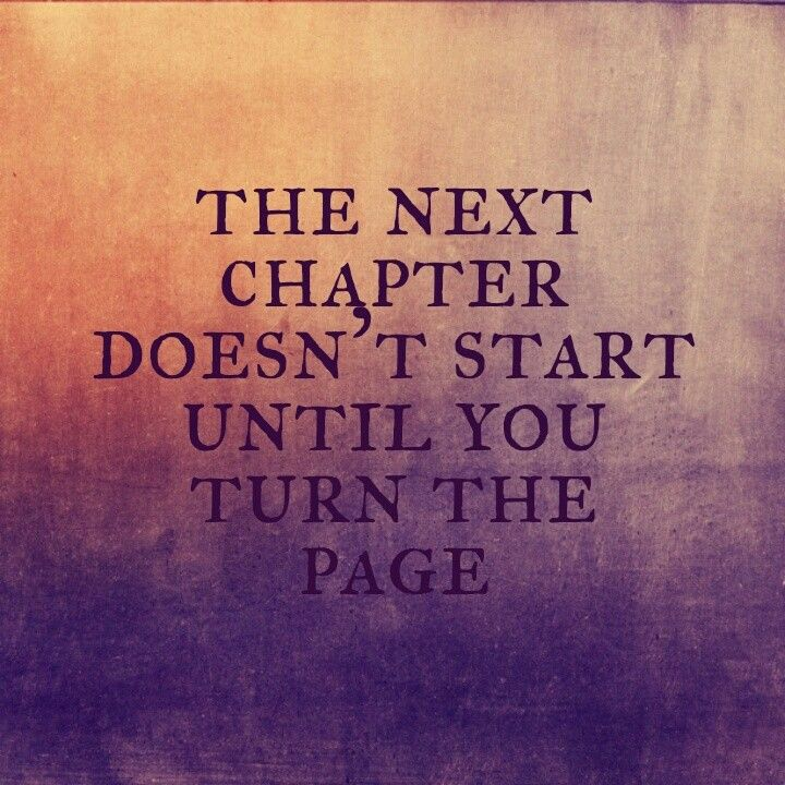 Quotes about Turning a new page (17 quotes)