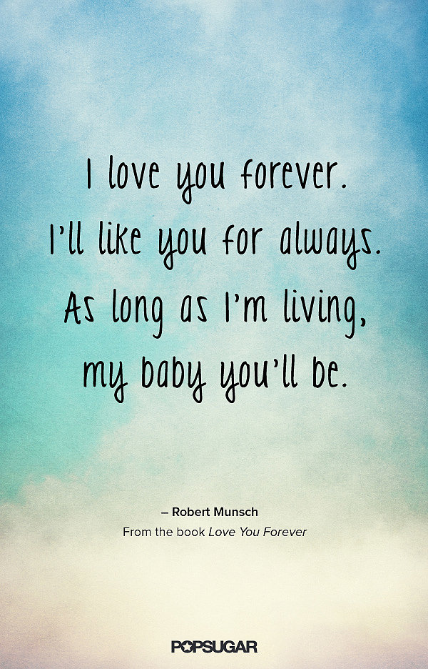 Quotes about I Love You Forever (69 quotes)