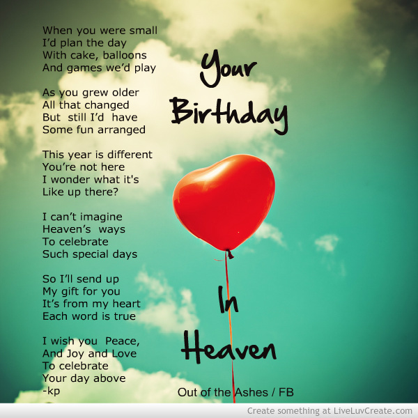 Liveluvcreate Image Birthday In Heaven By Kp 222690