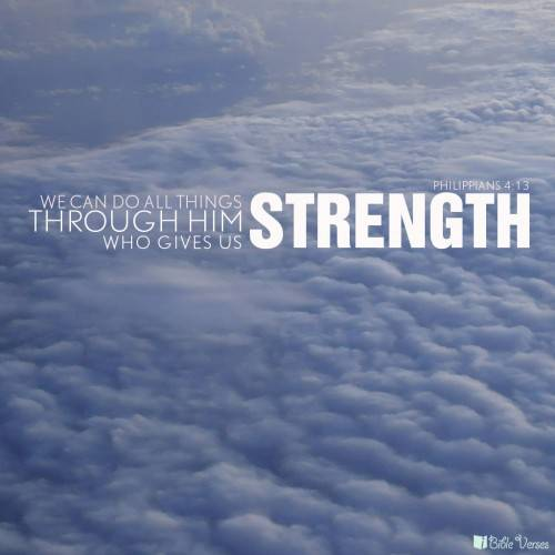 Quotes about Strength in the bible (15 quotes)