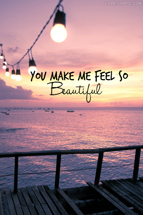 Quotes about Feel beautiful (211 quotes)