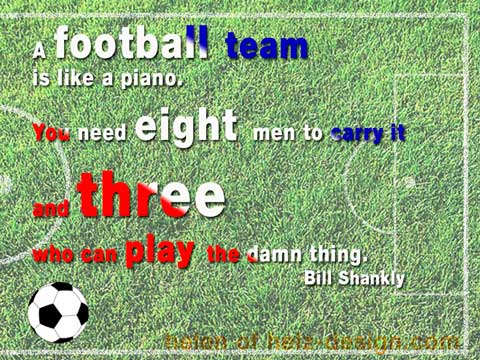 Quotes about Football teams (64 quotes)