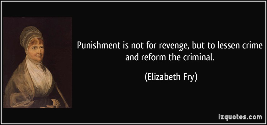 an overview of the punishment quote Crime and punishment summary when the first installment of crime and punishment appeared in the journal russian messenger in january of 1866, its debt-ridden author, fyodor mikhallovich dostoyevsky, had not yet finished writing the novel.