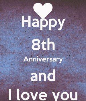 eight month anniversary ideas