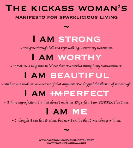 Positive quotes for single women