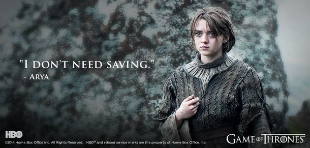 Quotes About Arya Stark 40 Quotes