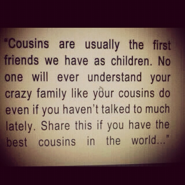quotes about death of a cousin quotes