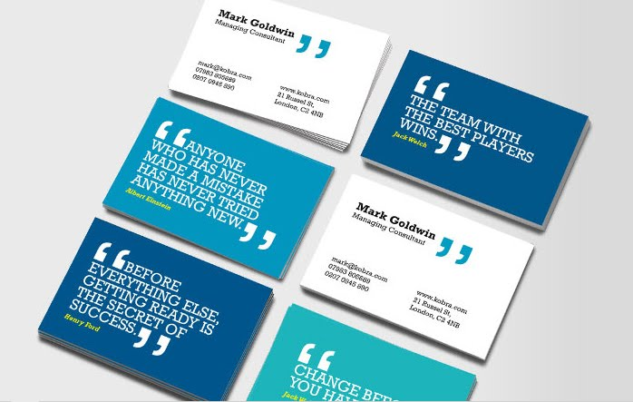 Quotes about business cards 56 quotes reheart Images
