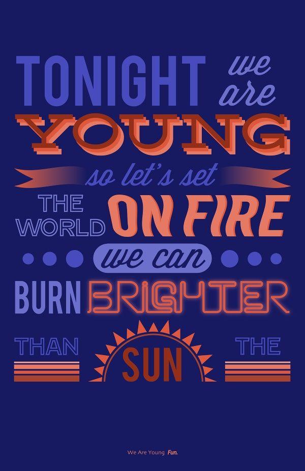 we are young lyrics - 485×750